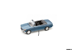 Miniaturen BMW 1600 Cabrio