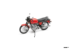 Miniaturen BMW R75